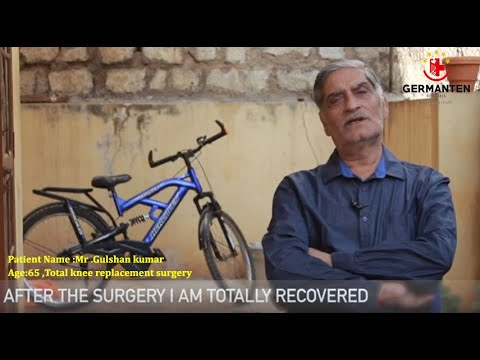 Gulshan Kumar Total knee replacement Testimonial