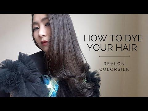 How to dye hair at home with Revlon Colorsilk | มาเปลี่ยนสีผมด้วยตัวเองกับ Revlon Colorsilk