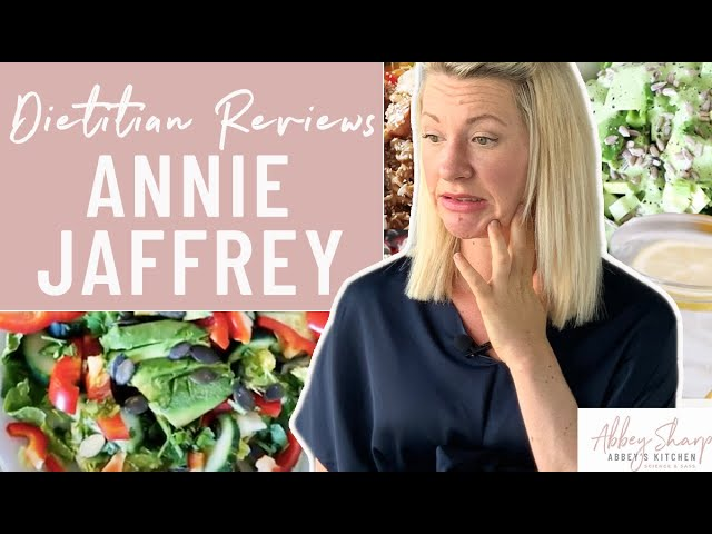 Dietitian Reviews ANNIE JAFFREY What I Eat In A Day