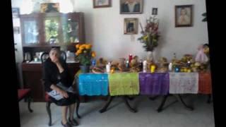 Dia de muertos en Santa Rosa Xochiac