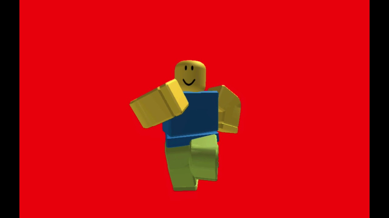 Roblox Default Dance Red Screen Youtube
