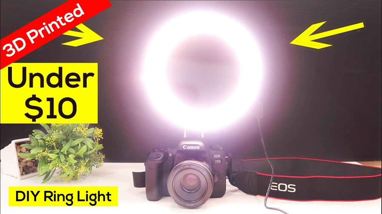 how to make a ring light