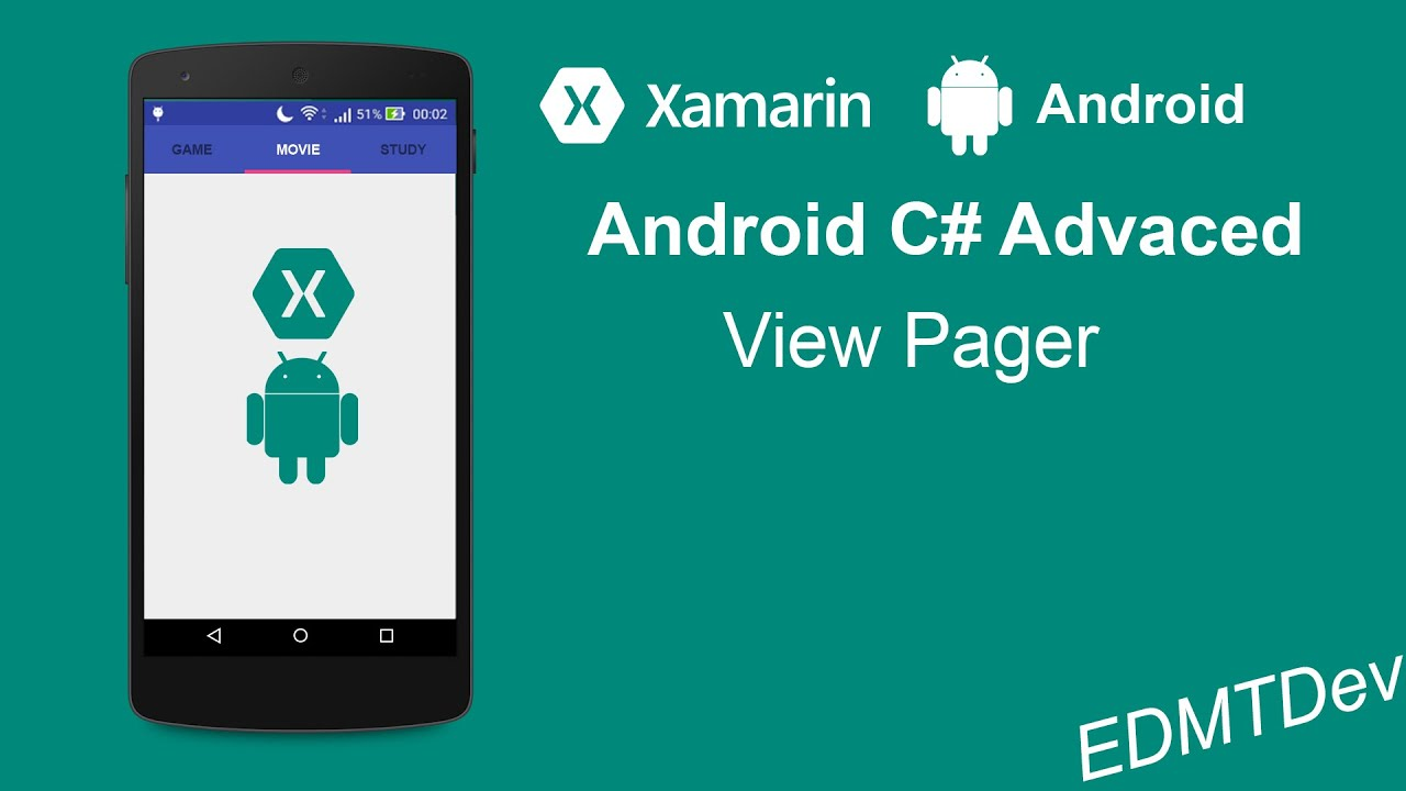 xamarin android tutorial view pager