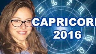 CAPRICORN 2016 Horoscope. COMPLETIONS and  NEW HOPE