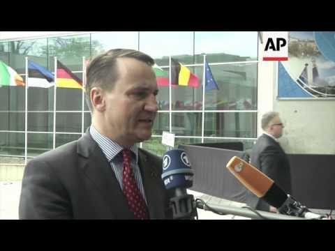 Meeting of European Union Foreign Affairs Council; Ashton, Hague comment