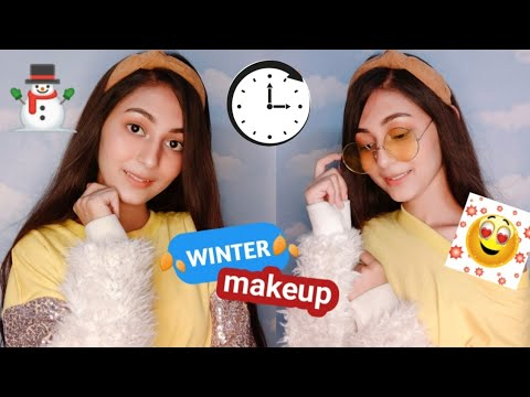 QUICK & EASY COLLEGE ROUTINE || Natural makeup for teenagers & college, office going girl
