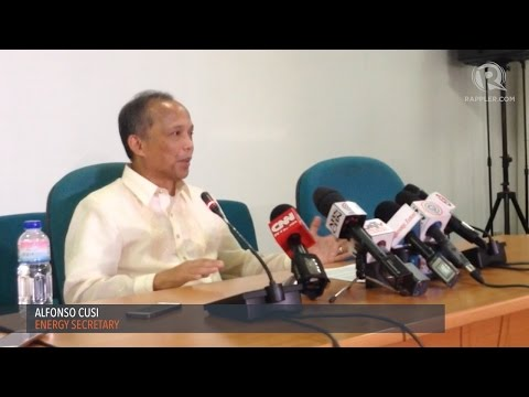 DOE Secretary Alfonso Cusi contradicts DENR chief Gina Lopez's stance on coal projects