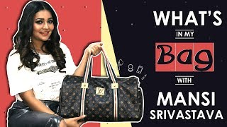 What's In My Bag With Mansi Srivastava | Bag Secrets Revealed | India Forums thumbnail