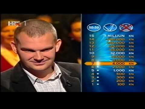 Dario Butković  kviz5 (Tko želi biti milijunaš?)
