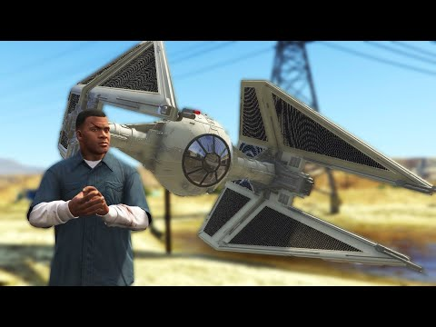 I Turned Grand Theft Auto 5 Into Star Wars