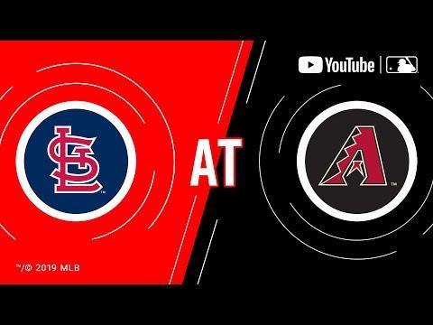 Cardinals at Diamondbacks | MLB Game of the Week Live on YouTube