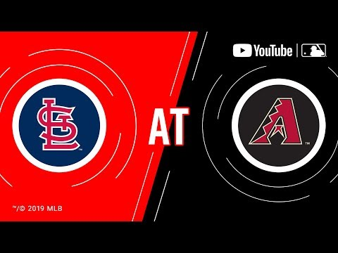 Cardinals at Diamondbacks | MLB Game of the Week Live on YouTube