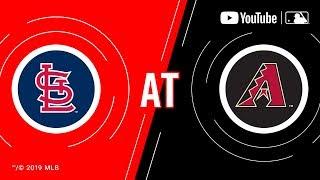 Kardinäle bei der Diamondbacks | MLB-Spiel der Woche Live auf YouTube