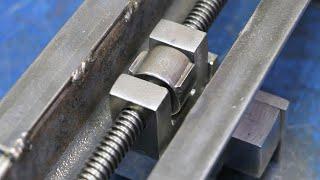 DIY Homemade Vise!! || Make A Metal Vise!!