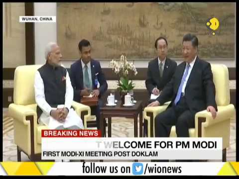 Central Chinese city Wuhan gave a grand welcome to PM Modi