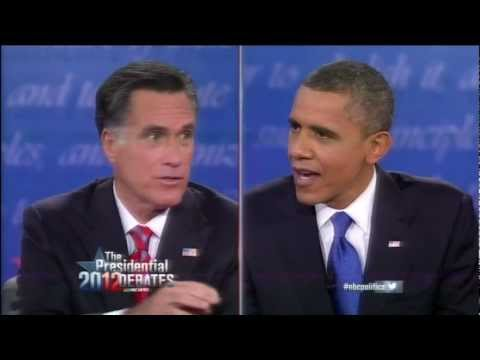 Obama and Romney Debate Small Business and Education Reform (2012 Presidential Debate #3)