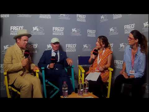 Jacques Audiard And John C. Reilly - THE SISTERS BROTHERS - 75 Venice Film Festival