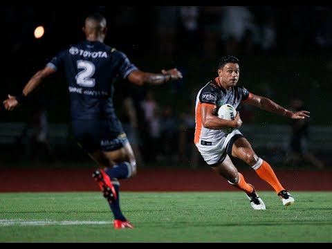 Match Highlights: Wests Tigers vs. Cowboys Trial