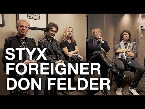 Styx, Foreigner and Don Felder Talk About the 'Soundtrack of Summer' Tour