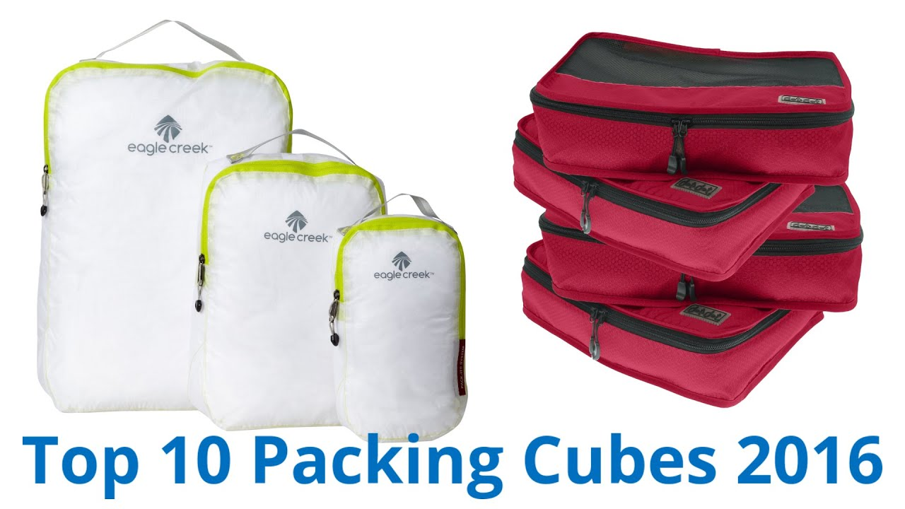 10 best packing cubes 2016 youtube