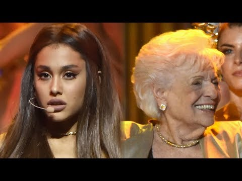 Ariana Grande Brings Her Mom & Nonna Onstage During 2018 VMAs Performance