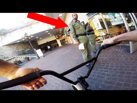 RIDING BMX ON FBI PROPERTY *ILLEGAL* 👮