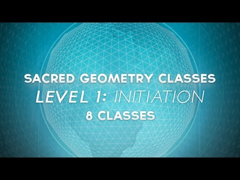 Sacred Geometry International, Online Sacred Geometry Classes.  Constructing a Virtual Pyramid