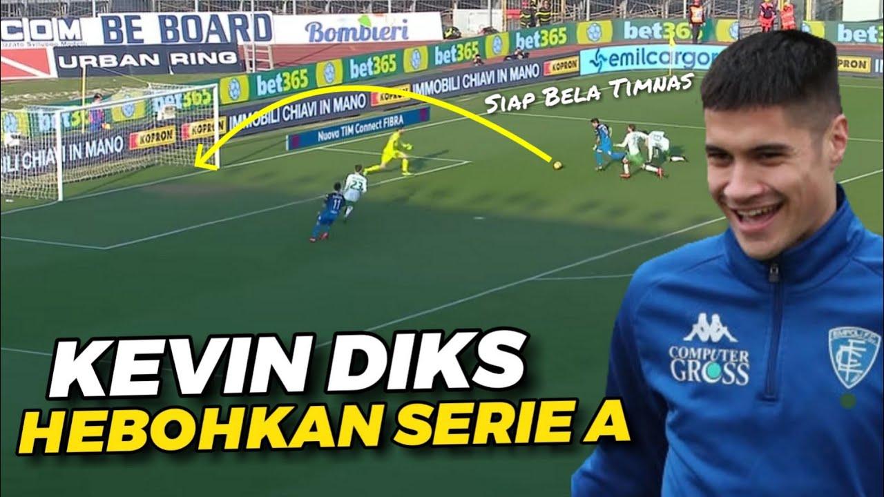 "GABUNG TIMNAS 🇩 Skills GACOR Pemain Empoli ""Kevin Diks"" Pemain Keturunan Indonesia"