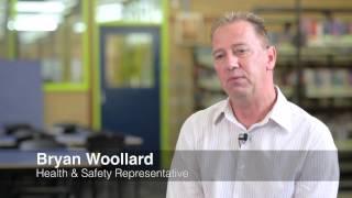 Worksafe Awards 2012 Entrant: Bryan Woollard - Galvin Park Secondary College