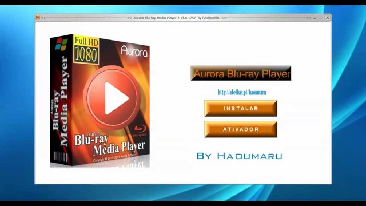aurora blu ray media player registration code free