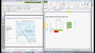 [Operation Research] 01.Solve Linear Programming/Simplex Method Using Ms. Excel