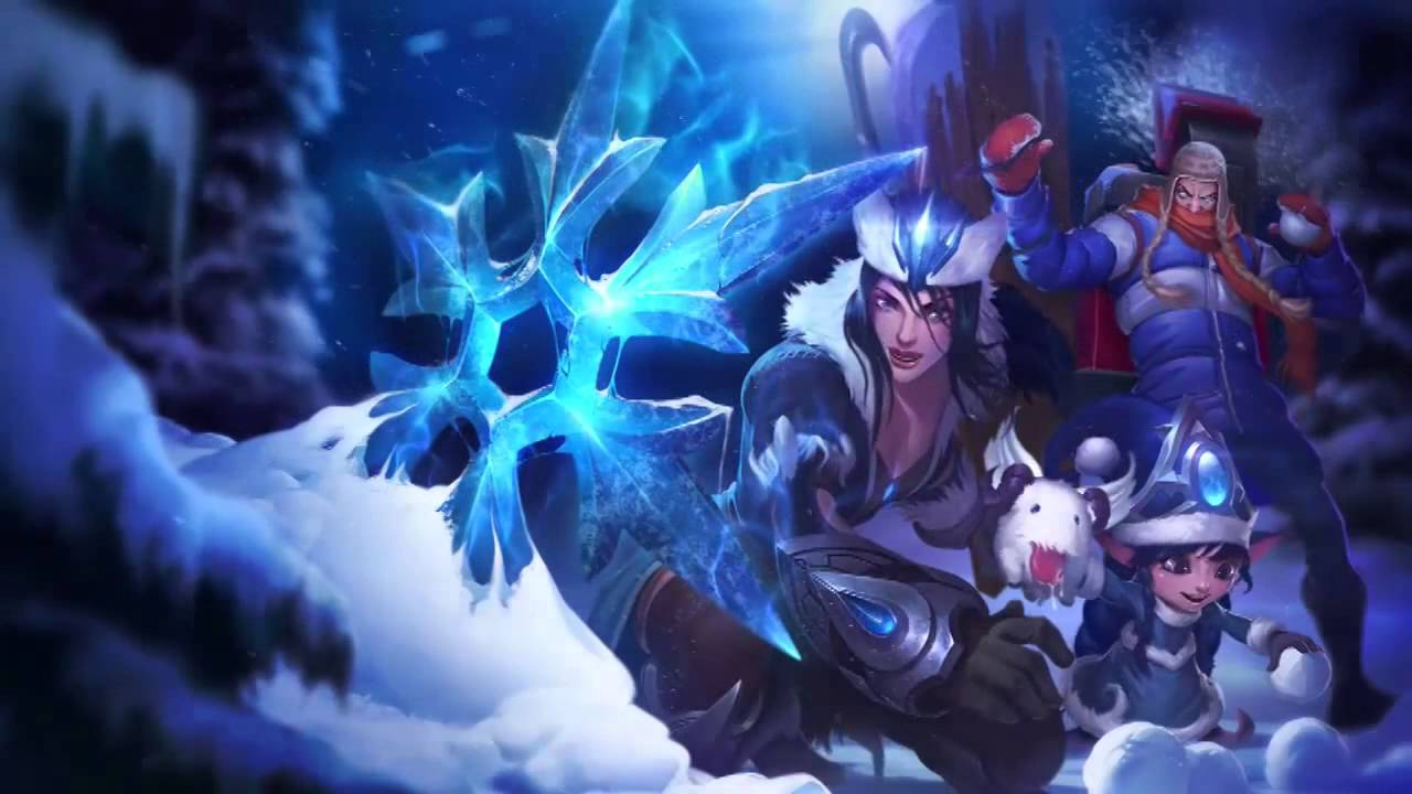 Snowdown Showdown 2013 Sivir Lulu Singed League Of Legends