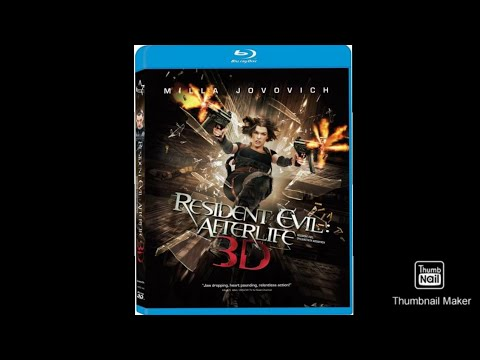 Download Opening to Resident Evil: Afterlife 2011 Blu-Ray 3D (Greek copy)