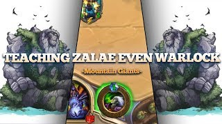 Teaching Zalae How to Play Even Warlock