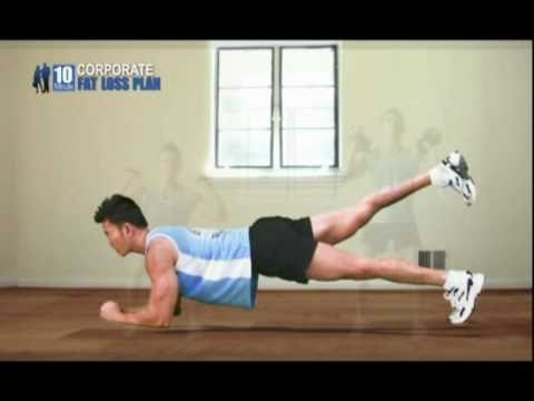 10 Minute Corporate Fat Loss Plan Jumpstart Video Sample: P90X Alternative