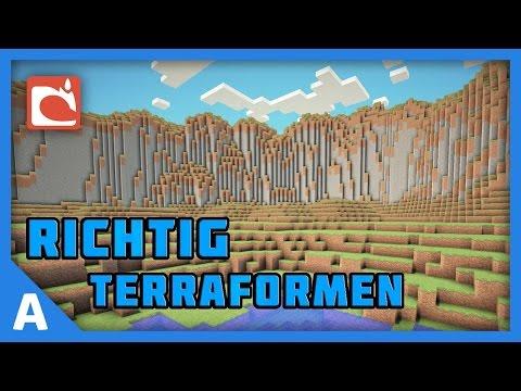 Minecraft Tutorial: Richtig Terraformen