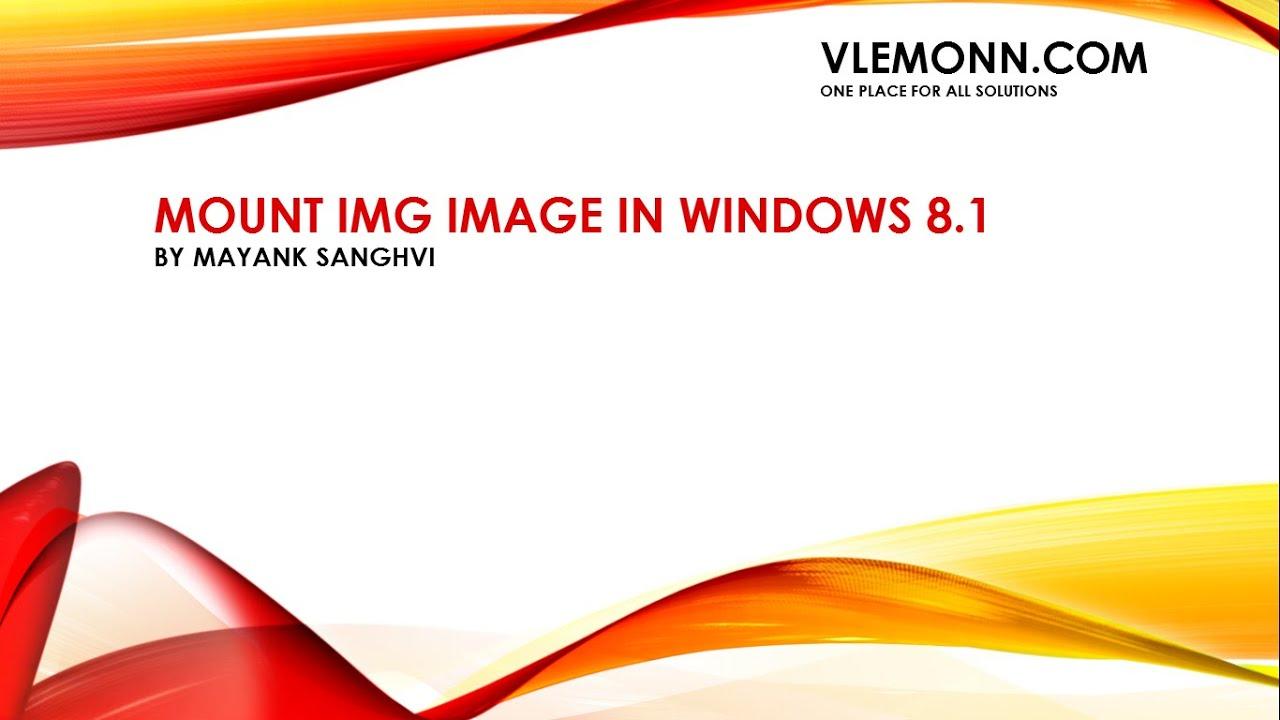 mount nrg windows 8
