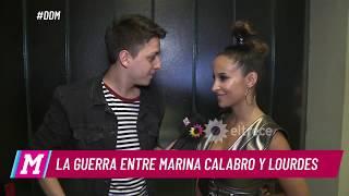 La guerra entre Marina Calabró y Lourdes Sánchez