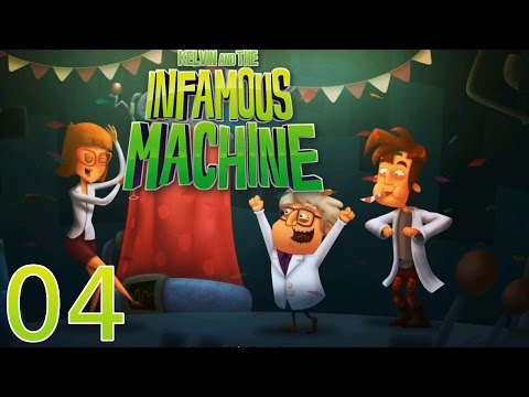 Kelvin and the Infamous Machine - [04/07] - [Ch.2: Gravity - 02/02] - PC English Walkthrough |