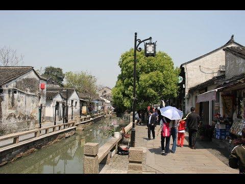 Walking Suzhou's Pingjiang Lu Area / 平江路