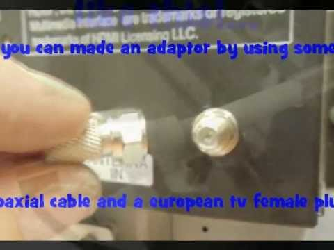 Broken Tv Anntena In Plug Fix Youtube