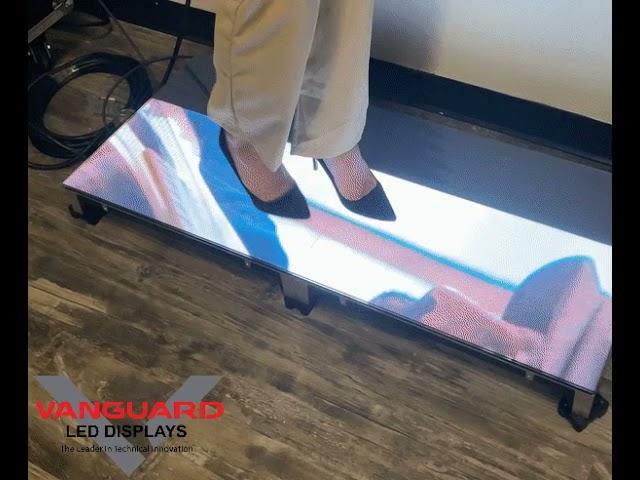 Heel proof LED displays @Vanguard LED