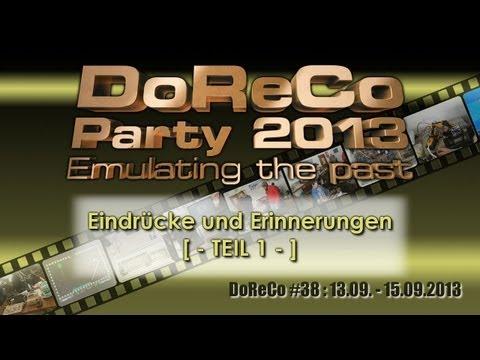 [-Teil 1/3-] DoReCo #38 - 3 Tage Party - Dortmunder Retro Computer Treffen