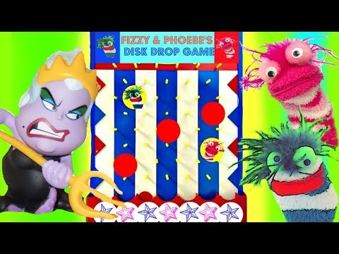 Princesses Play The Fizzy And Phoebe Disk Drop Game