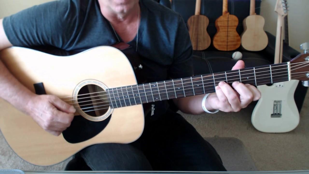 The Eagles Desperado Guitar Tab Preview Youtube