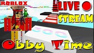 MEGA FUN OBBY [STAGE 300+] | 🔴ROBLOX LIVE STREAM