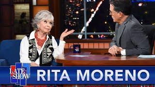 Rita Moreno Defends Her Friend Lin Manuel Miranda Over