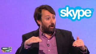 Arguing over Skype - Would I Lie to You? [HD][CC]