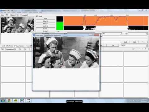 Decoding SSTV Image From Wolverine Radio Pirate Broadcast