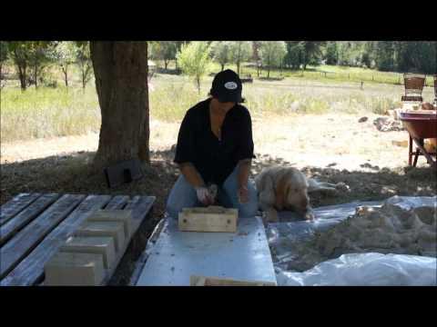 PART 2: Brick making.mold
